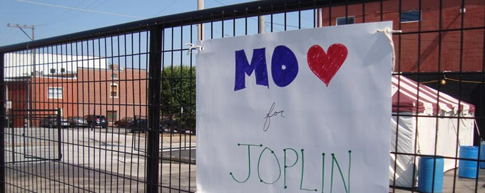 Reach out to the community of Joplin