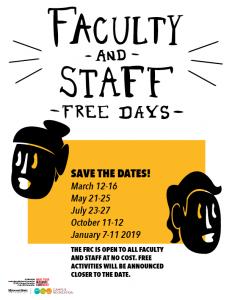 Free FRC days poster