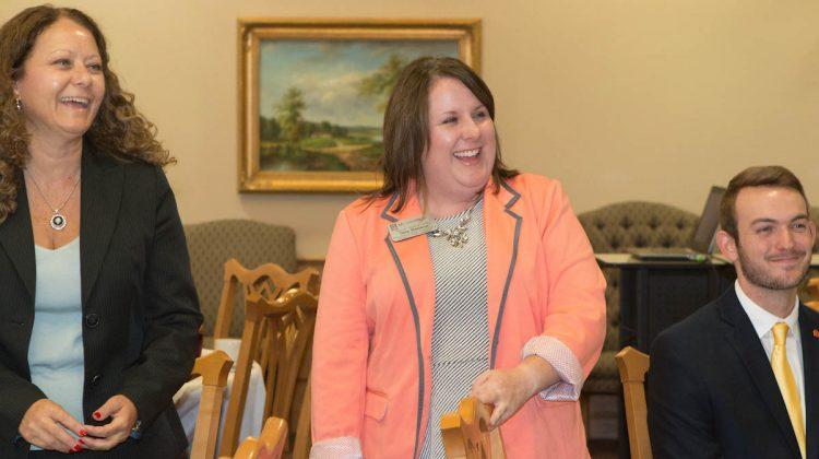 Tara Benson receives recognition