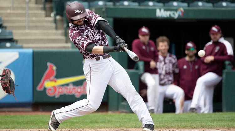 Baseball bear at bat