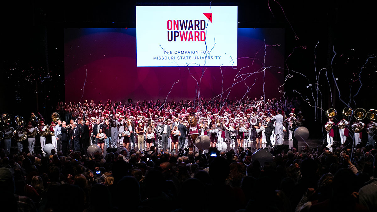 Onward and Upward campaign release event