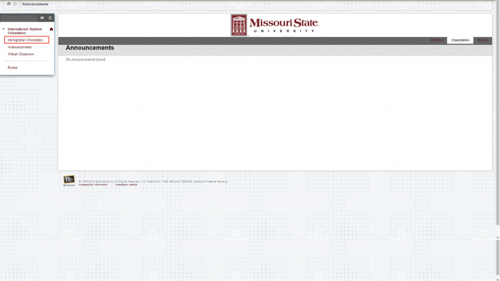Online Immigration Training at Missouri State University