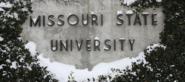 Missouri State Legacy Wall with Snow