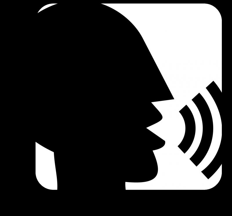 Talking Head Silouette
