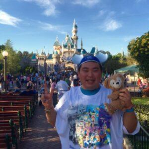 Motoki at Tokyo Disney