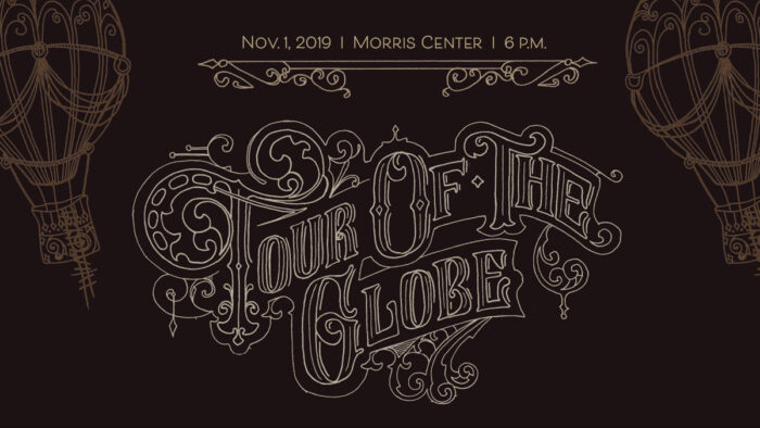Tour of the Globe Twitter Post