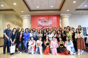 Yuganesh attends a Chinese cultural celebration at Missouri State