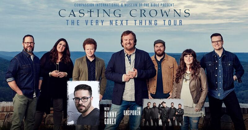 CONCERT ANNOUNCEMENT – CASTING CROWNS at JQH on April 13th!
