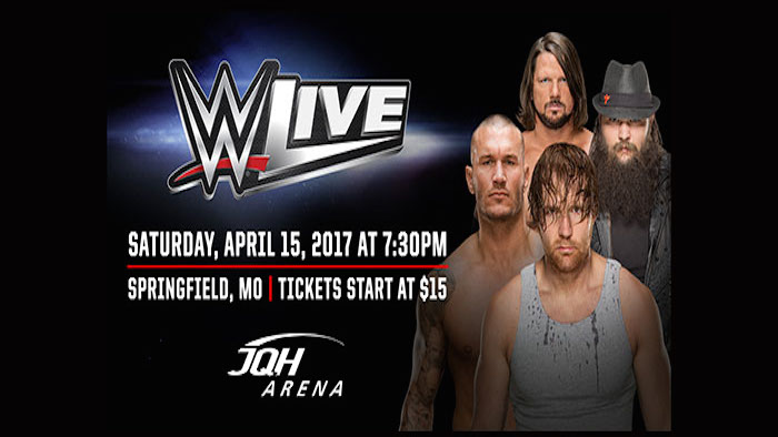 WWE LIVE at JQH Arena on April 15, 2017