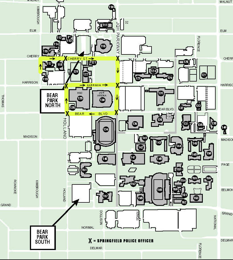 Event in JQH Arena to impact campus traffic flow Tuesday, April 4, 2017