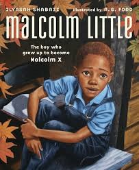 Malcolm Little illustrated cover by Ford