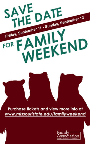 Upcoming Family Weekend: Early bird registration ends August 1, 2015