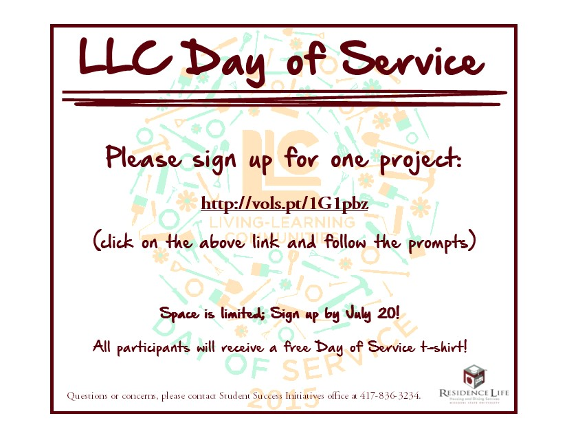 LLC Day Of Service 2015