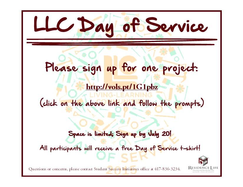 LLC Day Of Service 2015