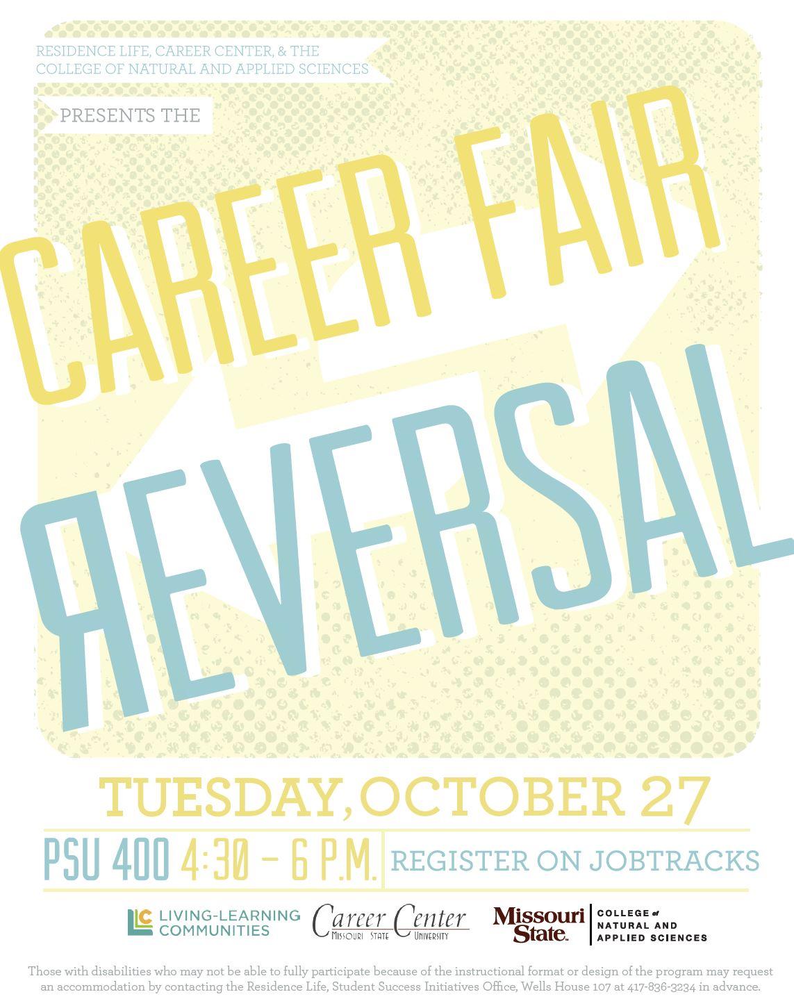 STEM Career Fair Reversal