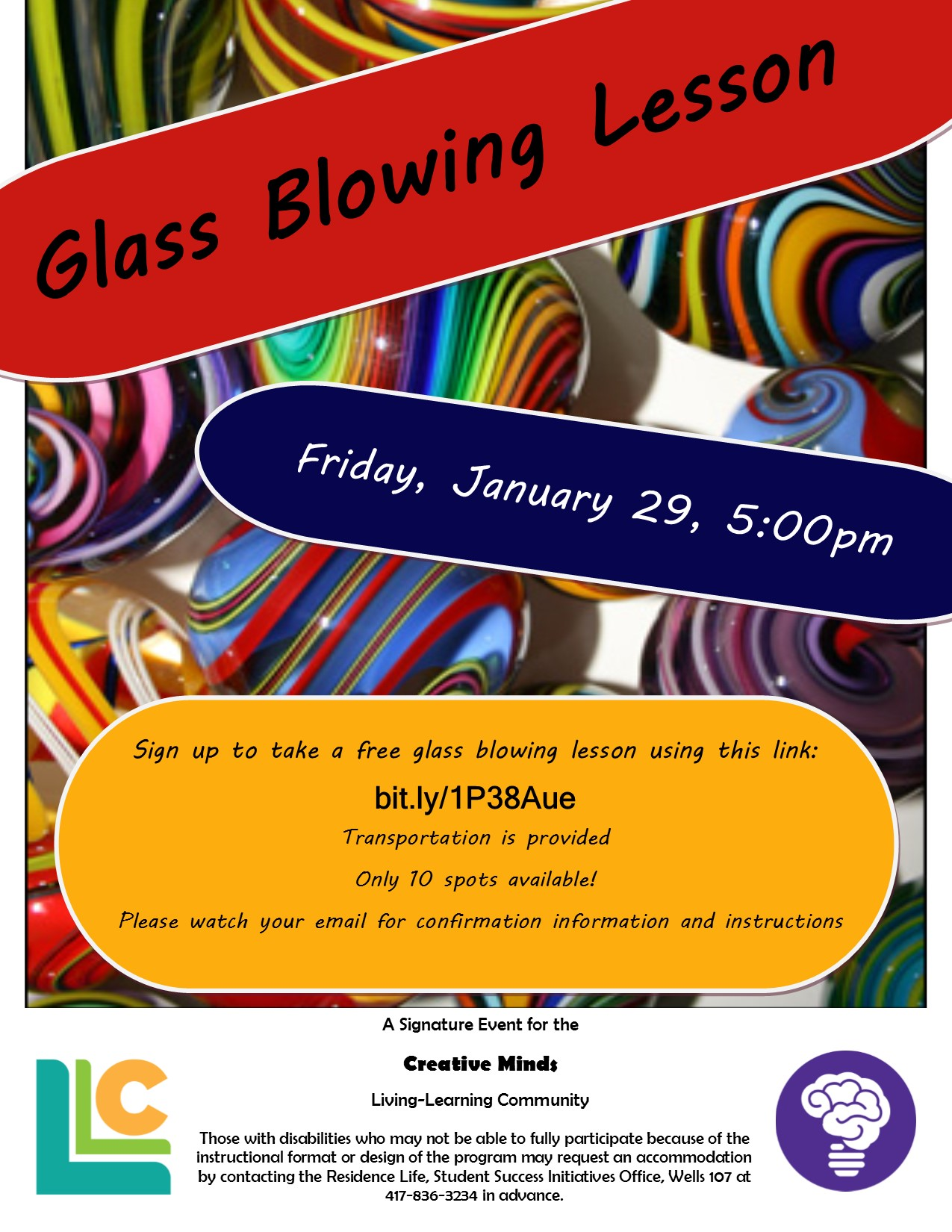 Creative Minds: Glass Blowing Lesson