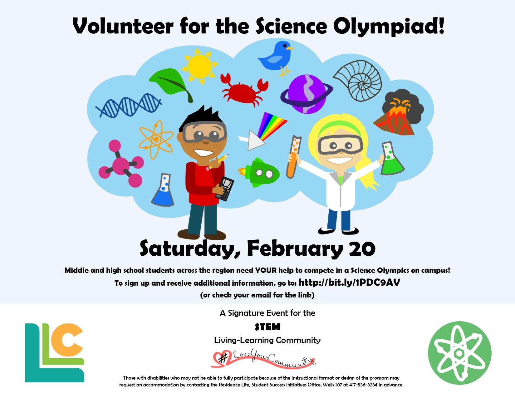 STEM Science Olympiad!