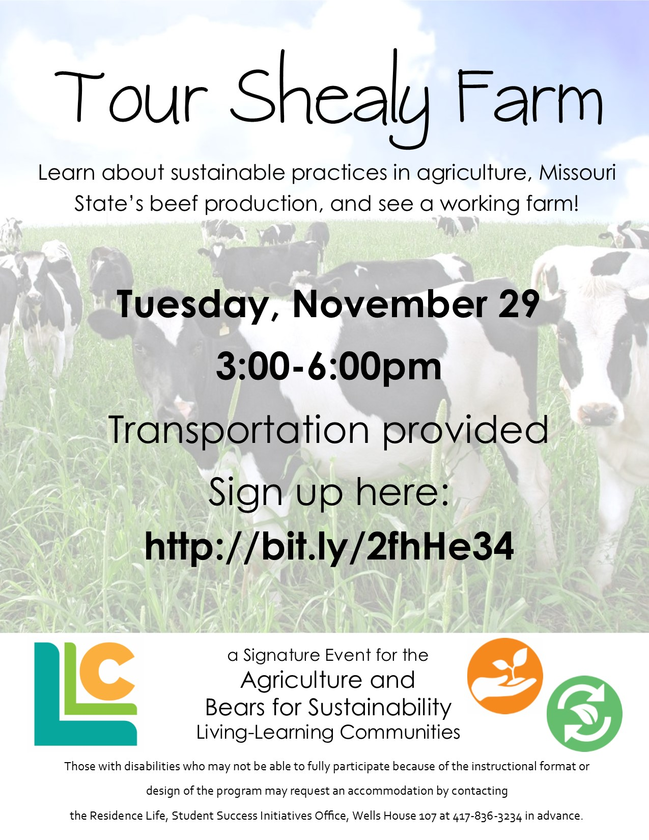 Agriculture and Bears for Sustainability: Tour Shealy Farm