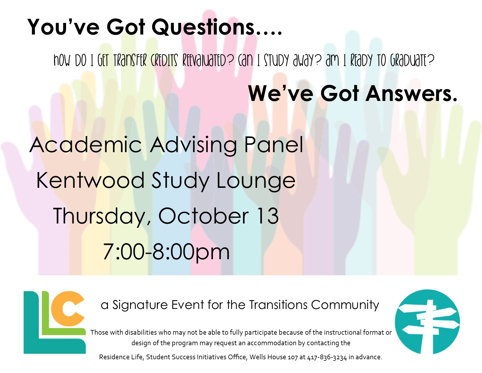 Transitions Academic Advising Panel