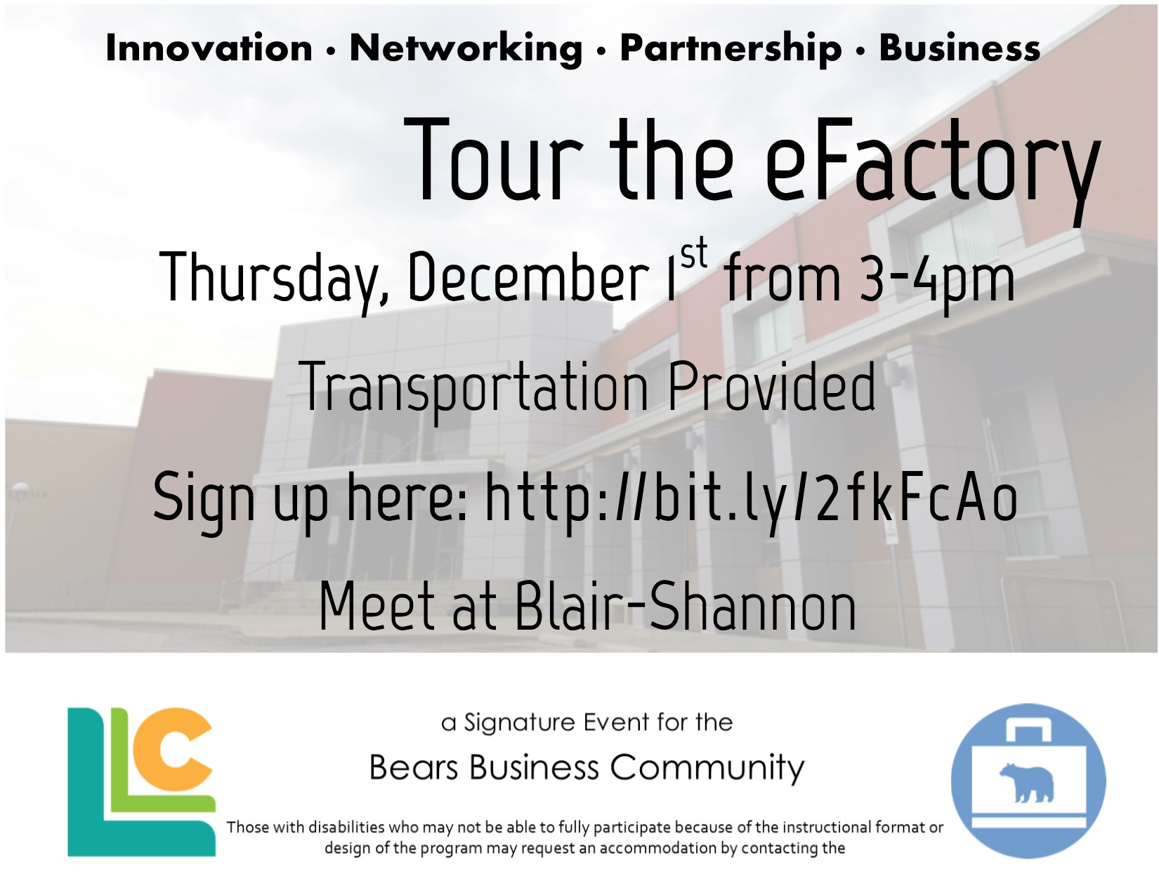 Bears Business: Tour the eFactory