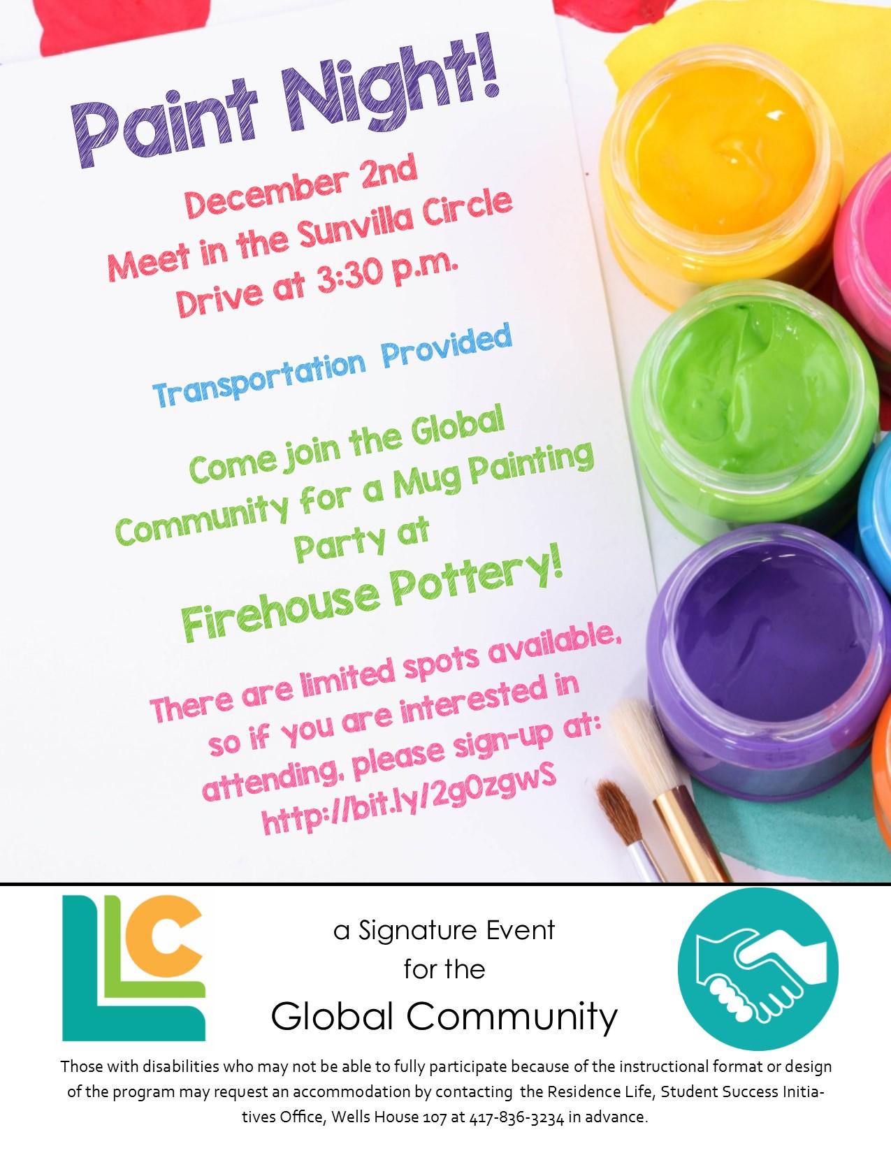 Global Community Paint Night!