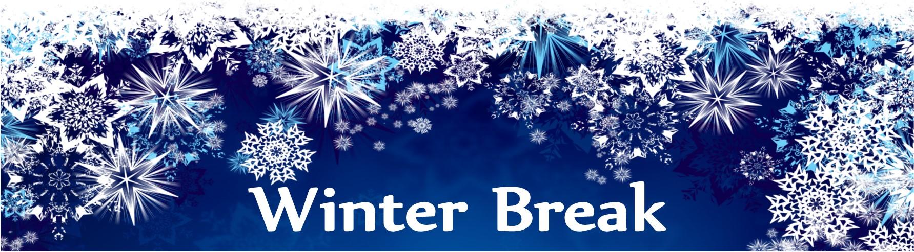 Winter Break Closings