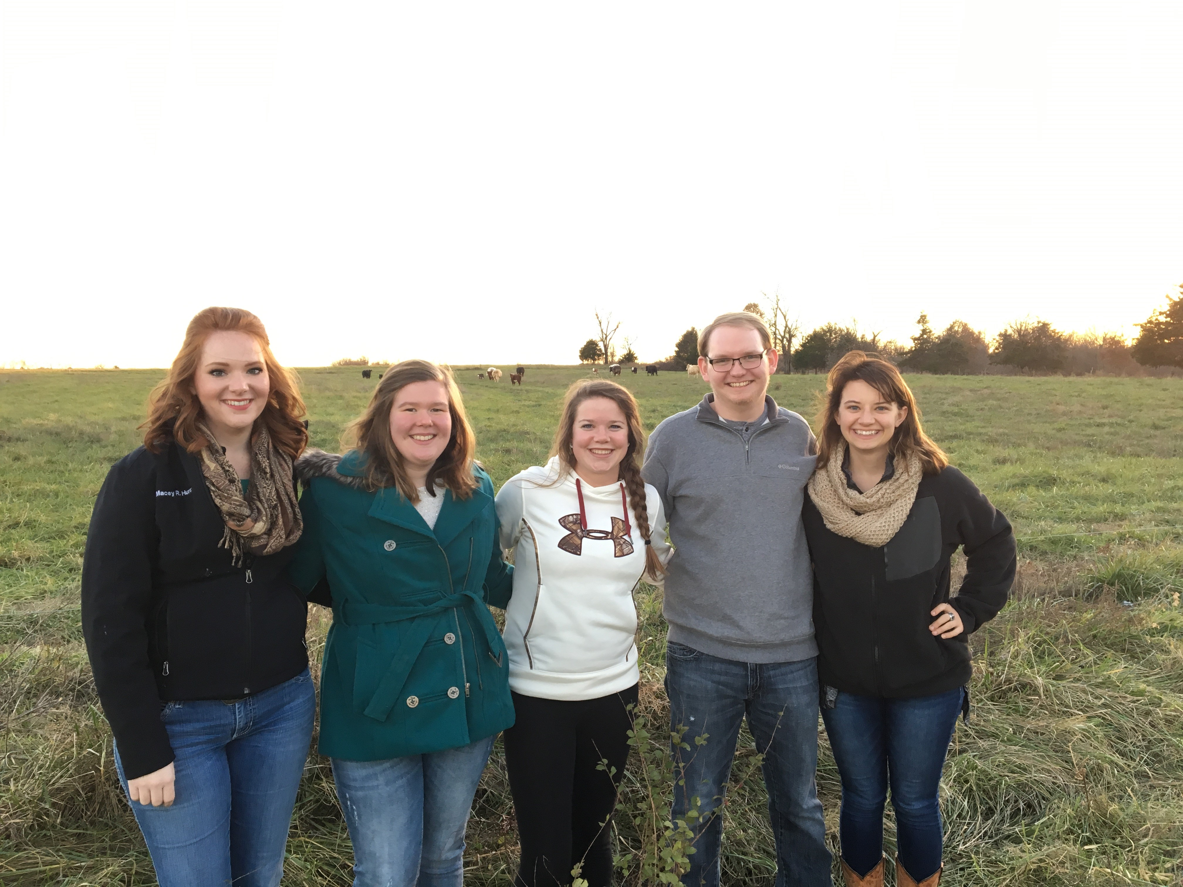 Agriculture Bears Take a Trip to Shealy Farm