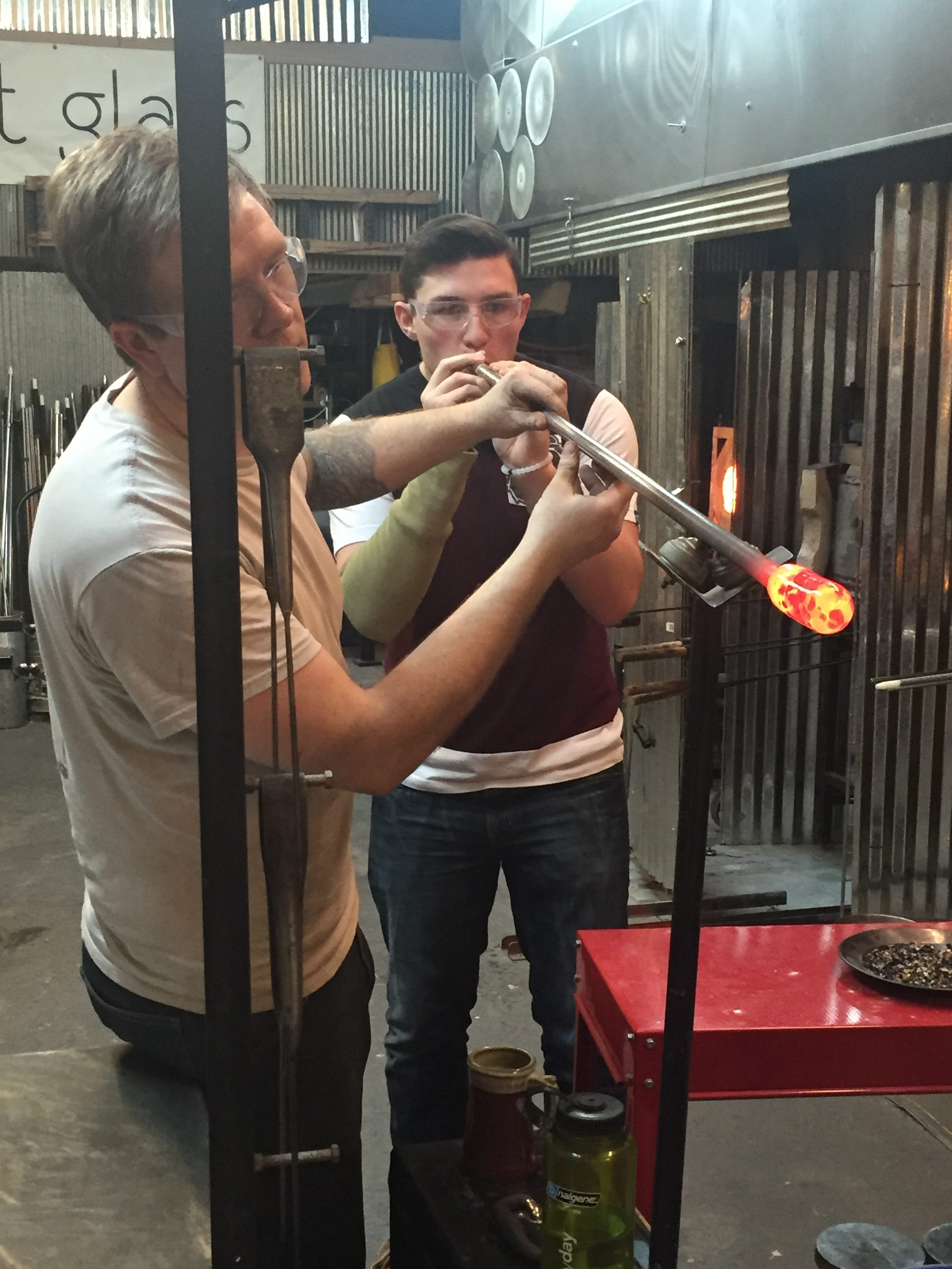Follow Your Passion to Springfield Hot Glass