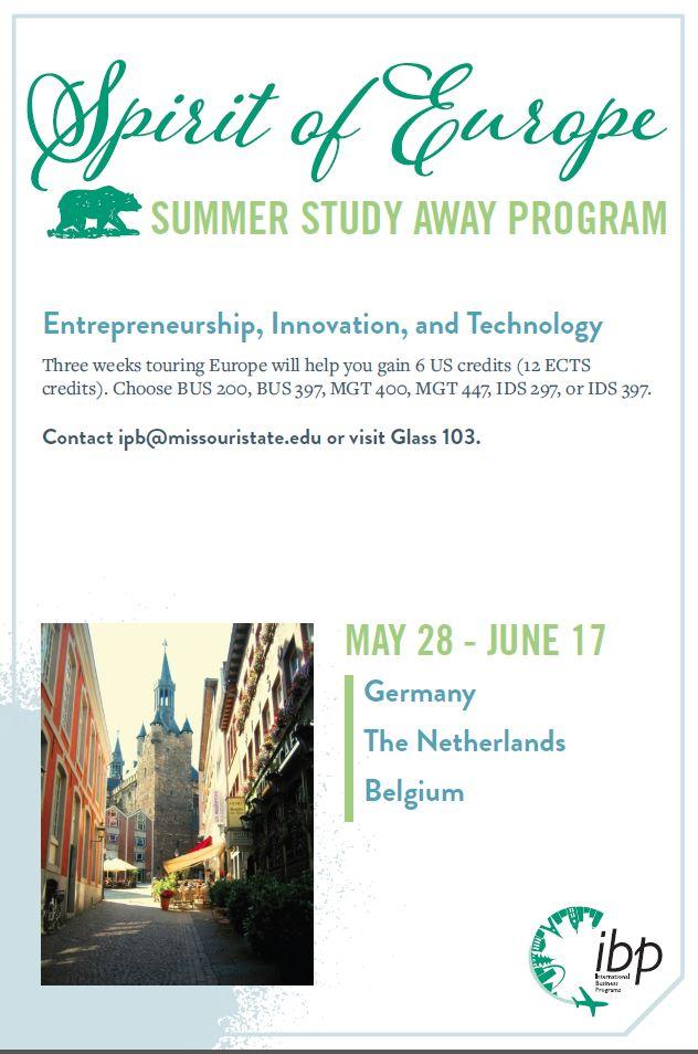 Spirit of Europe: Summer Study Away Program