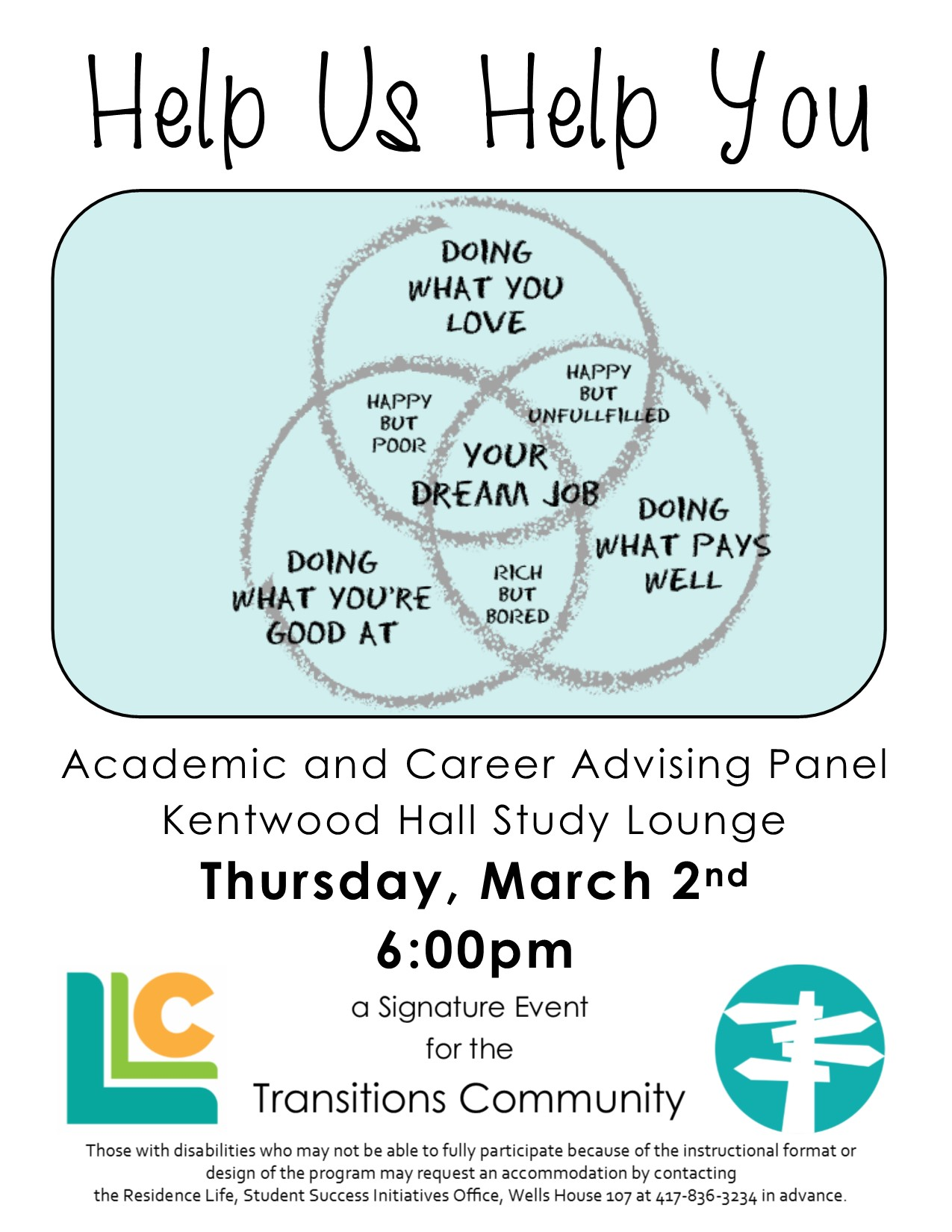 Transitions: Academic and Career Advising Panel