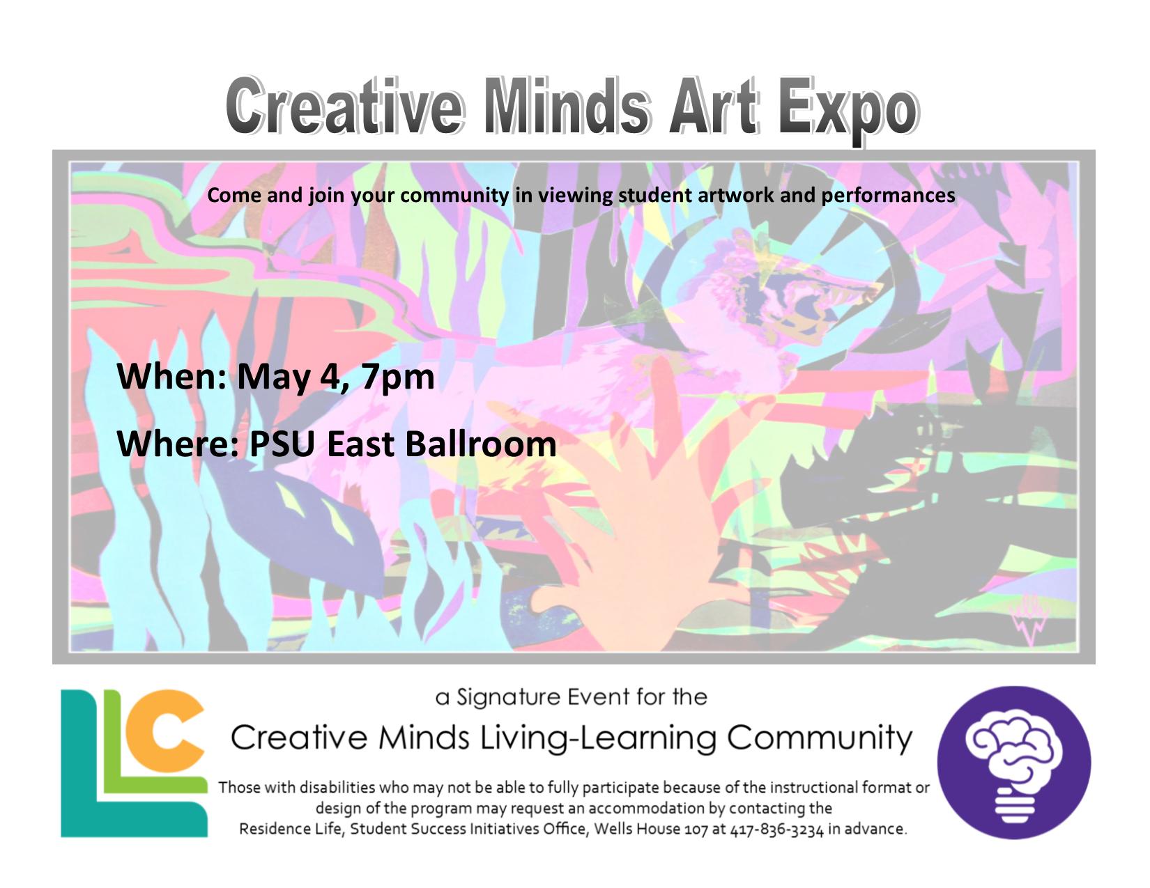 Creative Minds Art Expo
