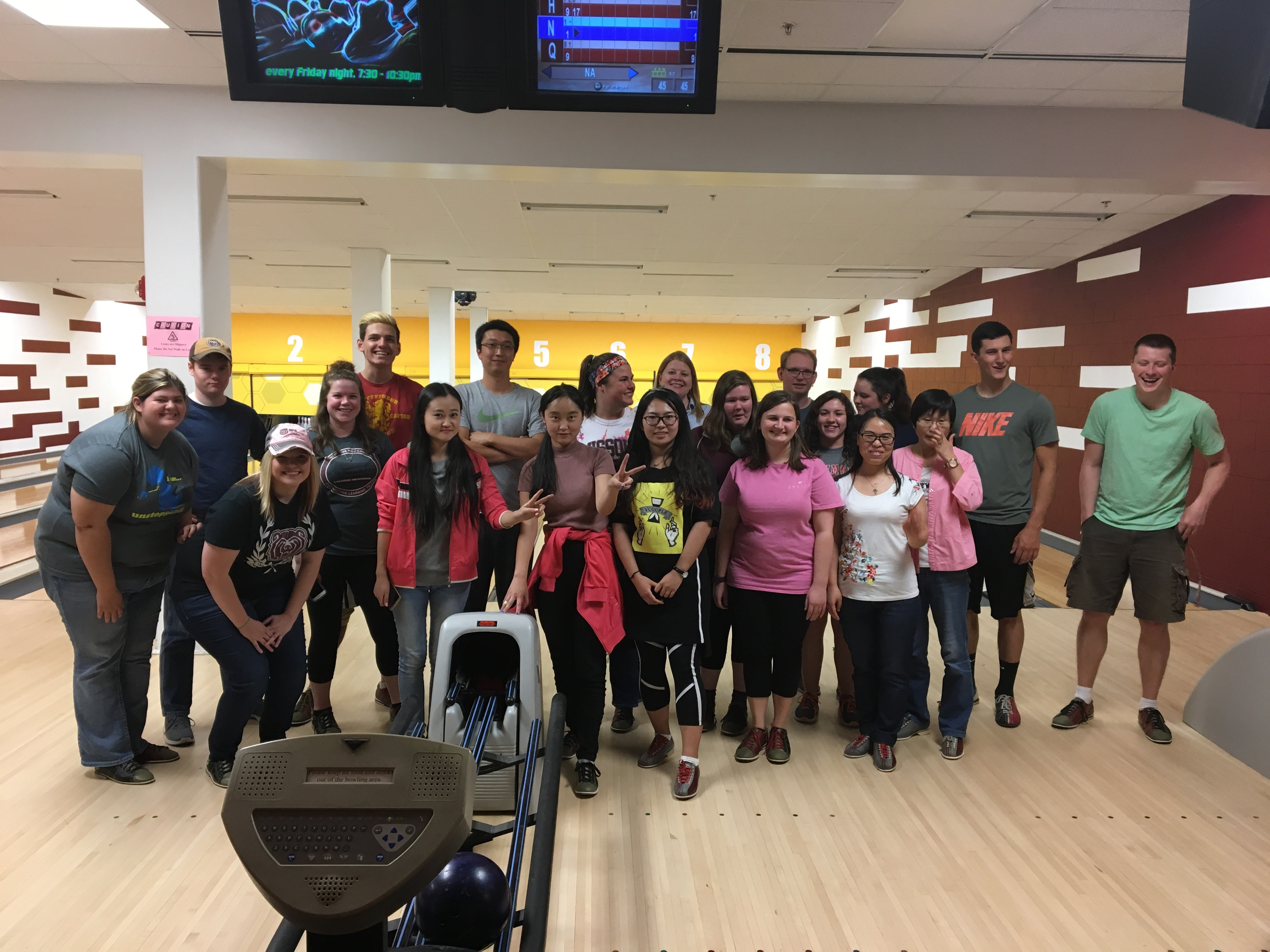 Ag students go bowling!