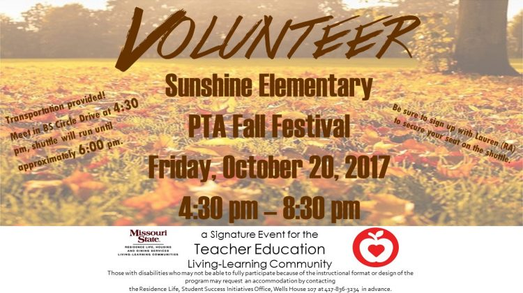 Teacher Education: Volunteer at Sunshine Elementary