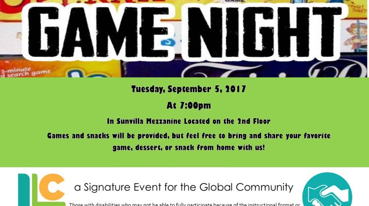 Global Community Game Night