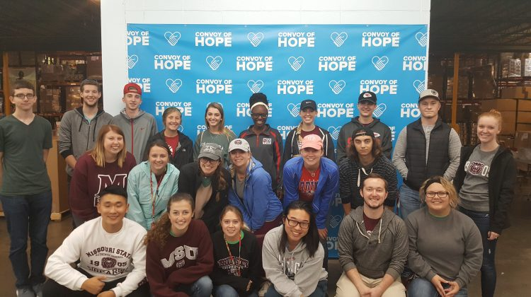 Future Health Care Professionals trip to Convoy of Hope