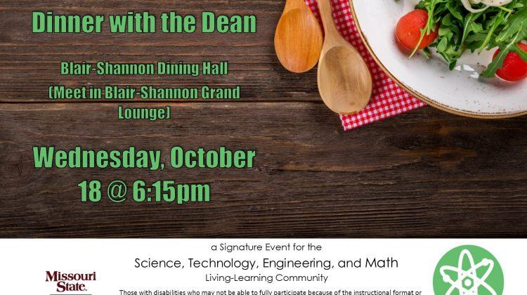 STEM Dinner with the Dean