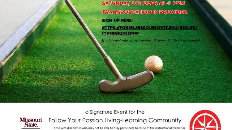 Follow Your Passion: Fun Acre Mini Golf