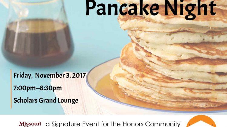 Honors Community Pancake Night
