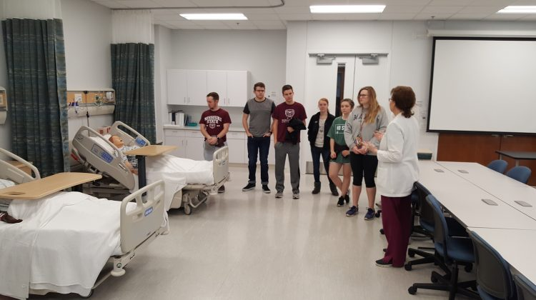 Future Health Care Professionals MSU Cares Simulation Lab Tour