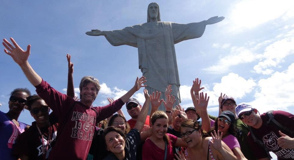 Marketing Professor Chuck Hermans led spring break trip to Brazil