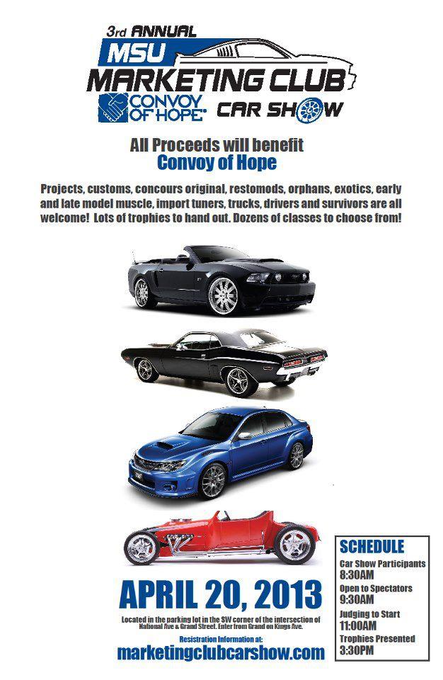 Marketing Club Hosts 3rd Annual Car Show this Saturday