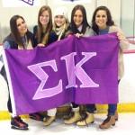 Addison with her Sigma Kappa sorority sisters
