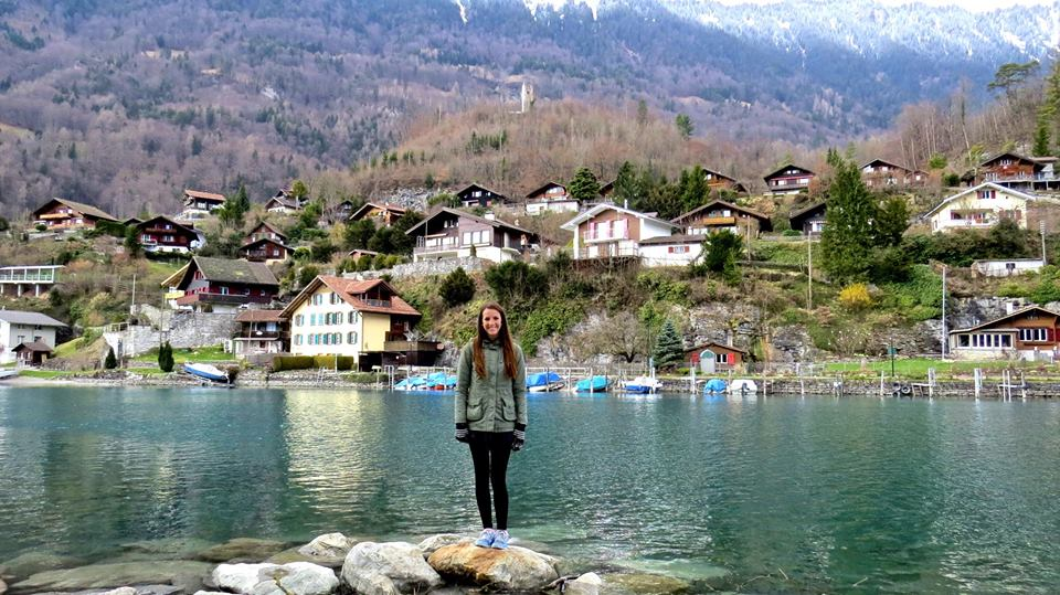 photo of Dani in Interlaken, Switzerland