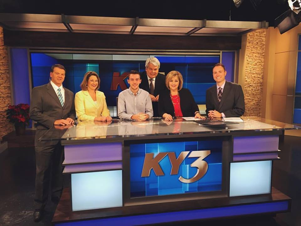 Marketing Student Takes on Broadcast Journalism at KY3