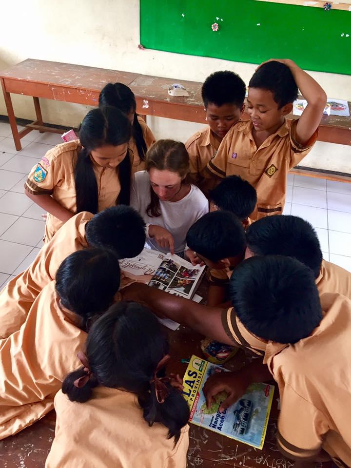 Mary Kate Hilmes: Logistics Major and International Volunteer