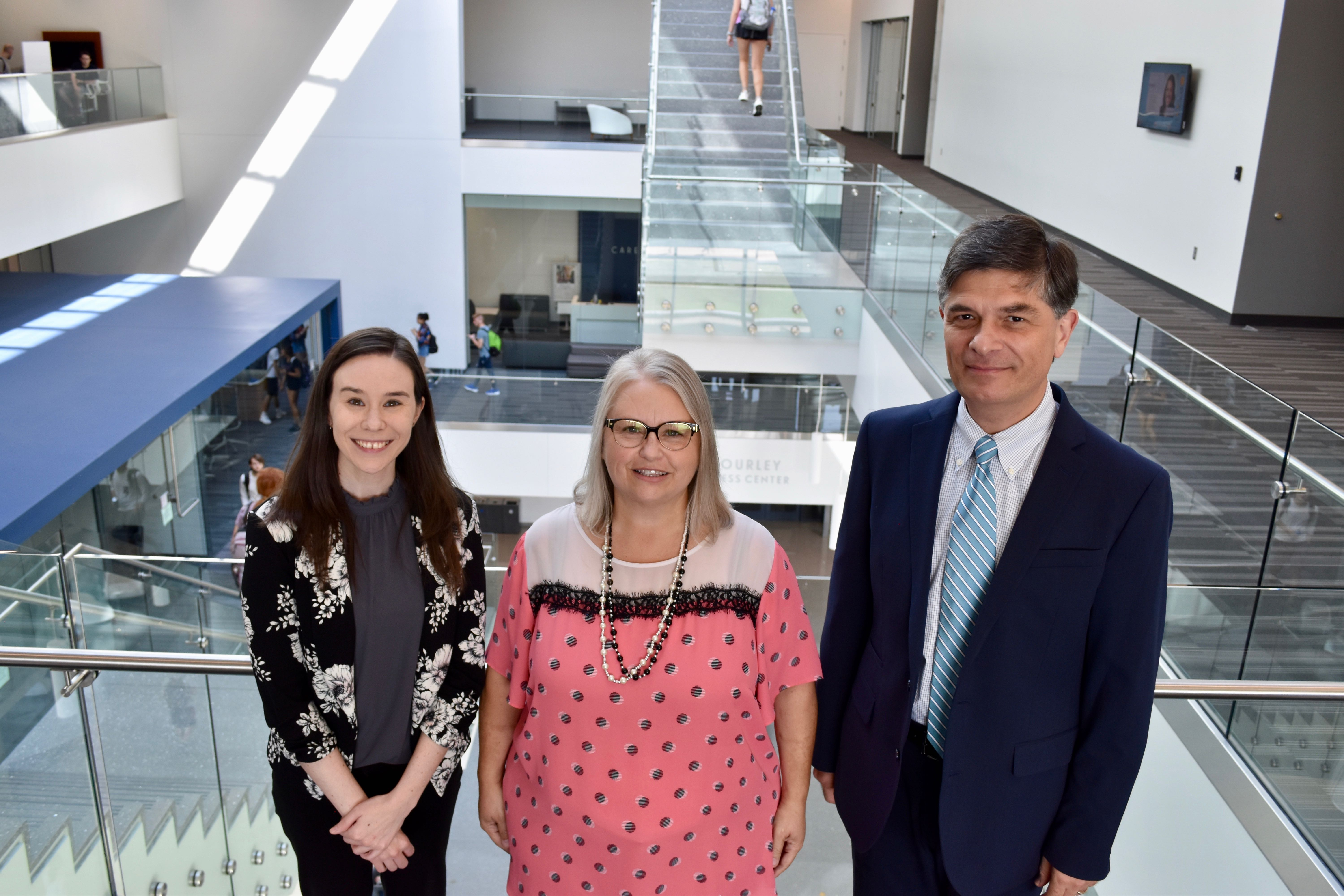Three new faculty and staff join Marketing Department.