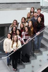 Samantha Francka and the Missouri State University Advertising Team.