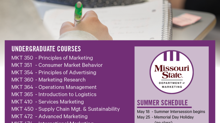 Summer 2020 Online Courses Flyer