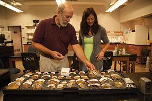 Dr. Chris Barnhart and Madeline Pletta