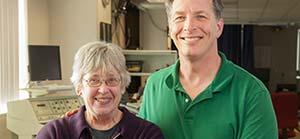 Dr. Jim Hackney and Sara Brummel